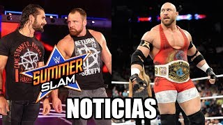 WWE Noticias: ¿Ambrose traicionará a Rollins en SummerSlam?, ¿Ryback regresa a WWE?