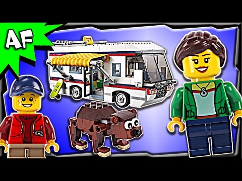 Lego Creator VACATION Getaways 31052 Stop Motion Build Review