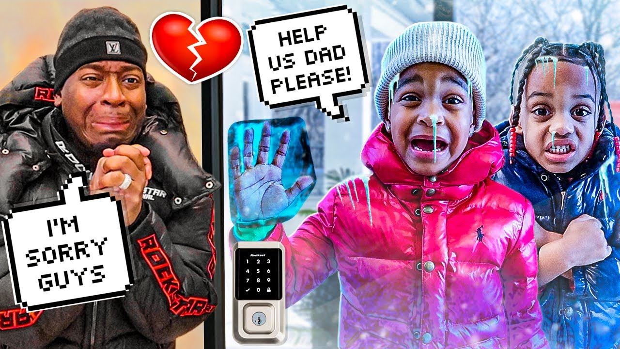 THE PRINCE FAMILY KIDS GOT STUCK IN THE SNOW STORM 🥶 **THEY FROZE**