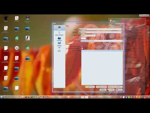 Ubuntu in KDE Plasma Desktop..features of QtCurve and KWIN window manager..
