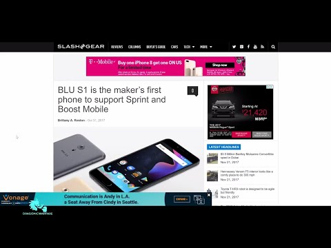 First Blu Phone for Boost Mobile and Sprint Unlocked (HD)