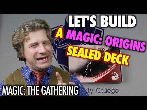 MTG - Let's Build A Magic Origins Sealed Deck for Magic: The Gathering Prerelease!