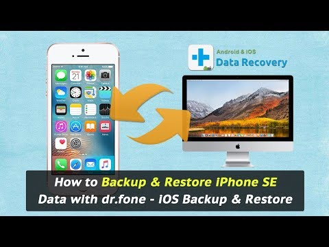 How to Backup & Restore iPhone SE Data with dr.fone - iOS Backup & Restore