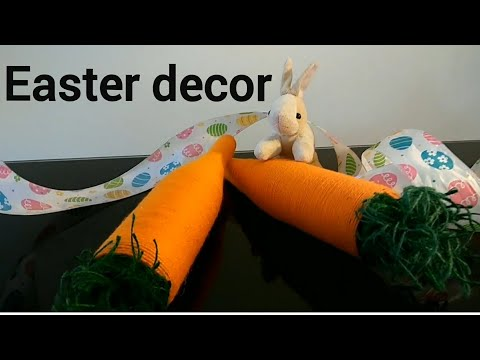 DIY. How to make Easter decoration/carrot.