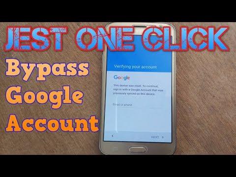 Bypass Google Account Verification SAMSUNG J2 J5,J7,A5,A7,A8,S6,S7,S8 ALL Samsung mobiles
