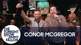 Download Jimmy and Conor McGregor Hang Out and Sing at an Irish Pub Video