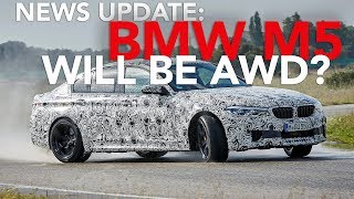 2018 BMW M5 Details, Lamborghini Urus Spied, 2018 Jeep Wrangler Info and More: Weekly News Roundup