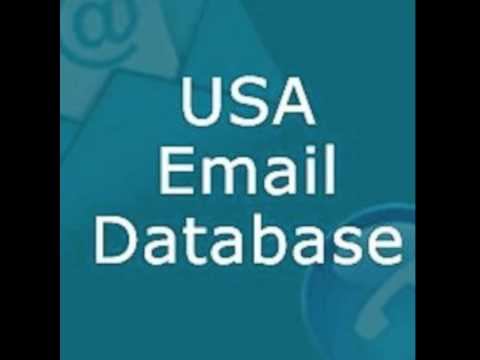 American B2B Email List & B2C E-mail database purchase