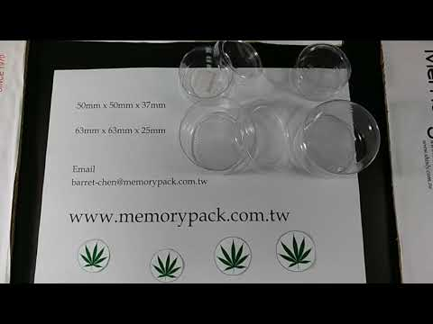 Weed packaging container plastic box