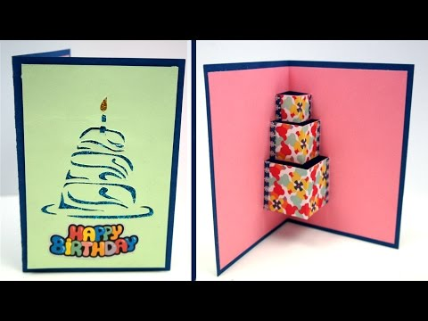 Easy DIY Birthday Card, How to make