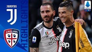 Juventus 4 0 Cagliari CR7 Scores His First Serie A Hat Trick As Juve Beat Cagliari Serie A TIM