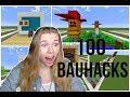 100 Bau-Hacks in Minecraft