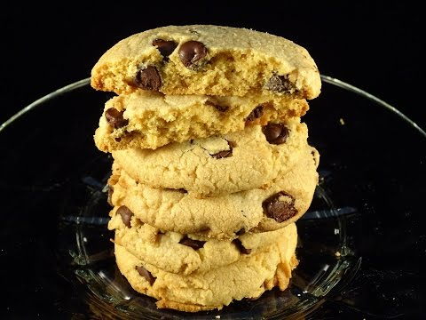 Peanut Butter Chocolate Chip Cake Mix Cookies- with yoyomax12