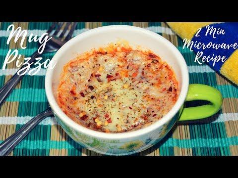 Mug Pizza   Homemade Pizza Recipe in Hindi   Pizza in Microwave Recipe   Urban Rasoi