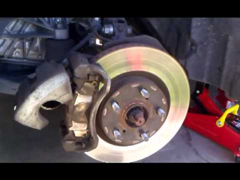 How to replace brake pads on a 2009 camry