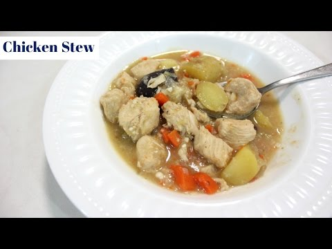 How To Make Easy Chicken Stew: A Simple One Pot Chicken Dinner Recipe