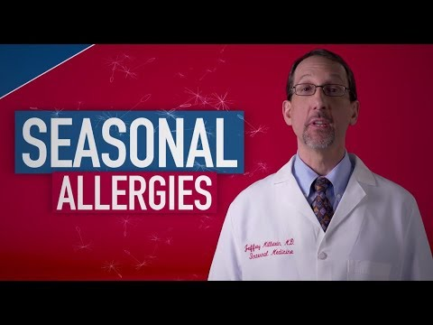 Seasonal Allergies: Fact or Fiction with Dr. Jeff Millstein