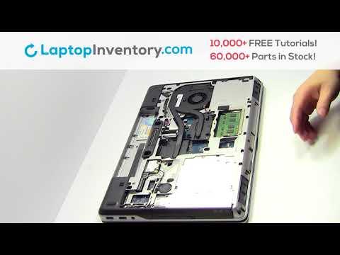 Repair DELL Latitude E6540 Laptop Motherboard and Fan, Dismantle E5520 M4600