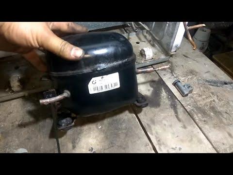Refrigerator Compressor Replacement / 134A Refrigerant Filling