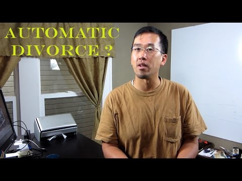 California Automatic Divorce? - The Law Offices of Andy I. Chen
