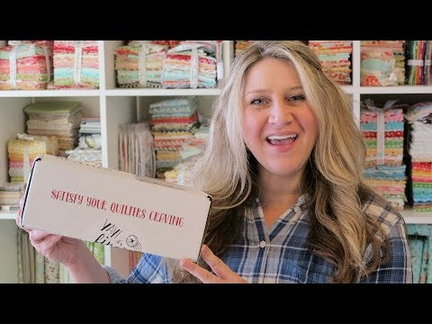 December 2017 Quilters Candy Box Unboxing