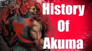 History Of Akuma Part 1 Street Fighter V