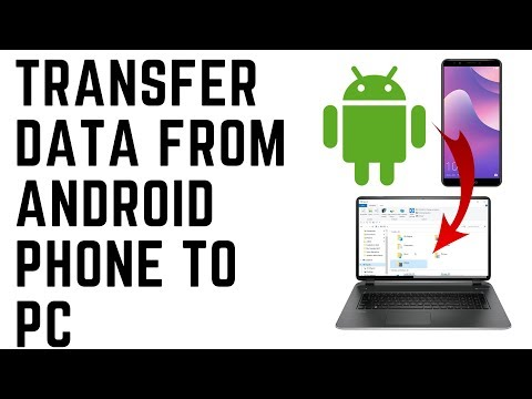 Transfer Data From Android Phone to PC