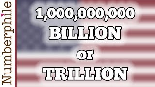 How Big Is A Billion Numberphile