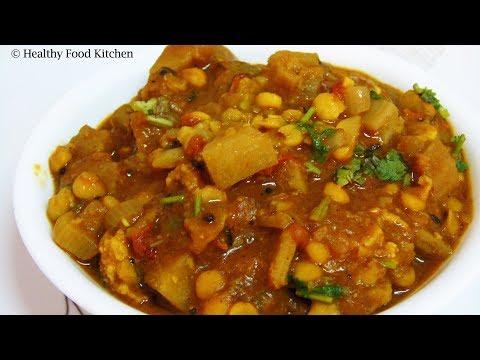 Raw Banana Curry Recipe-Chettinad Vazhakkai Pachadi Recipe-Vazhakkai  Kootu Recipe