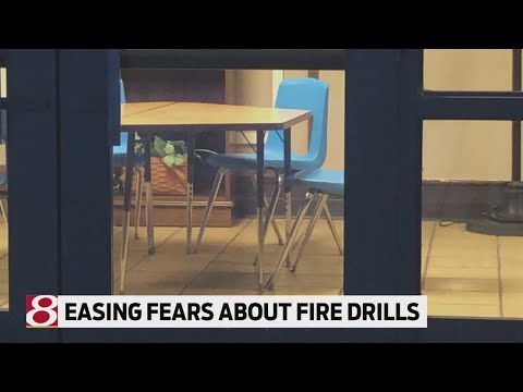 Easing student fears about fire drills
