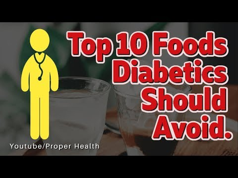 10 Foods to Avoid with Diabetes,Worst Foods for Diabetes