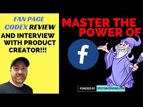The Fan Page Codex Review and Interview with Creator Joe Dube