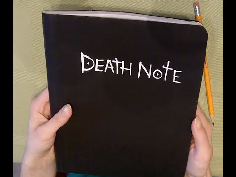DIY Death Note EASY