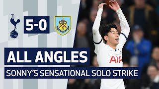 ALL ANGLES | HEUNG-MIN SON'S SENSATIONAL BURNLEY SOLO STRIKE