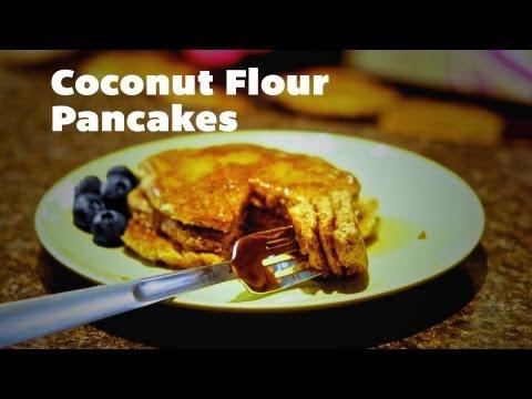 Coconut Flour Pancakes, Low Carb, Gluten Free, Wheat Free