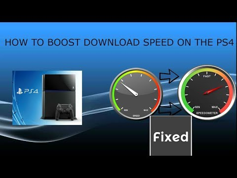 HOW TO MAKE YOUR DOWNLOAD SPEED FASTER ON YOUR PS4 (2017)-EASY!!!!