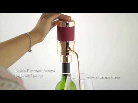 Lavida Luxurys - Electronic Wine Aerator