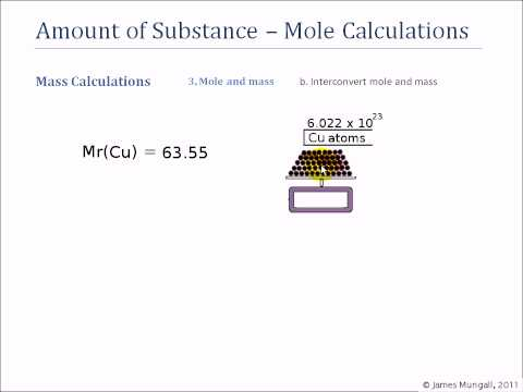 3. Mole and mass