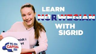 Sigrid Teaches You Norwegian Phrases 🇳🇴 | Capital