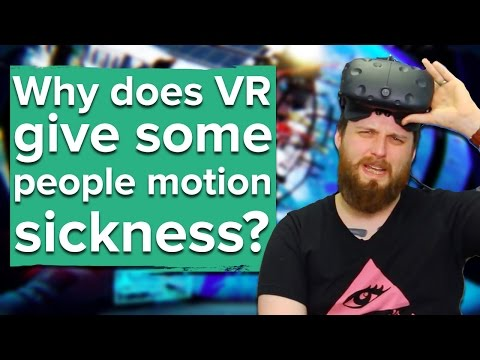 Why does VR give some people motion sickness? - The Eurogamer Show