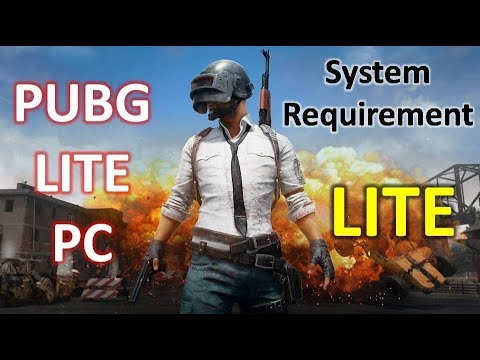 PUBG Lite for PC Minimum and Recommended System Requirement