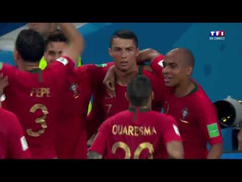 Portugal 3 3 Espagne   Le Coup Franc Magistral de Ronaldo !