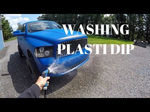 HOW TO WASH PLASTI DIP