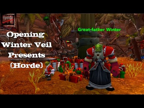 World of Warcraft: Winter Veil 2014 - Aethernus Unboxing Gifts