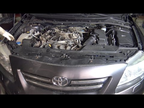 P1/19. How to replace Engine Step by Step. Toyota Corolla. Years 2007 to 2018 Part 1 of 19