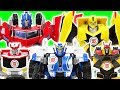 Transfomers RID Bumblebee Defeat The Dinosaurs With Strongarm Drift Ratchet DuDuPopTOY