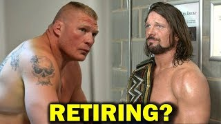 10 WWE RETIREMENTS Rumored for 2018 and 2019