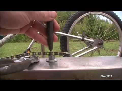 Shortening a Bike Chain Without a Chain Breaker