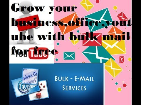 how to send bulk email from outlook in hindi | how to grow youtube channel with email