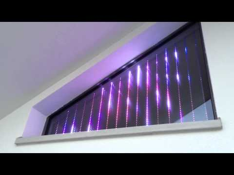 LED animated window